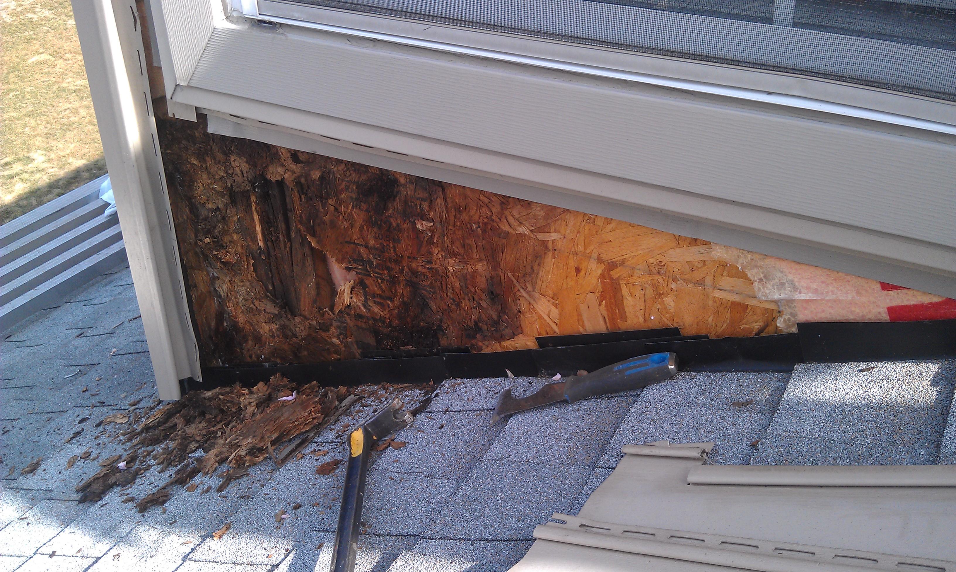 Foyer Window Leak : Roof repair in ohio buck quot i roofing and window