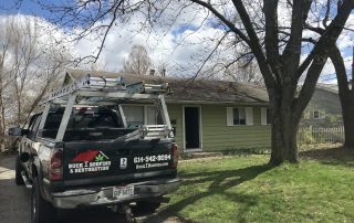 roof replacement in Columbus